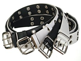 four premium grommet belts